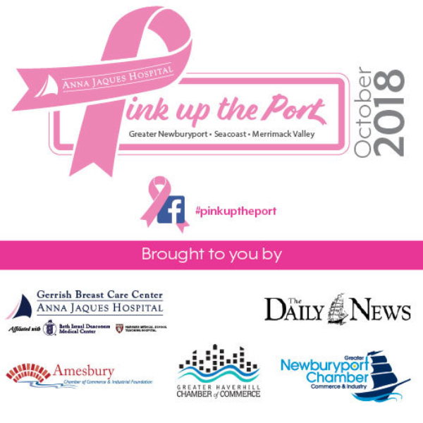 3e14f75eb4 During October s Breast Cancer Awareness Month - and all year round - Anna  Jaques Hospital and the Gerrish Breast Care Center strives to raise breast  cancer ...