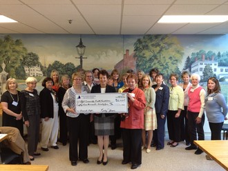 Aid Association Raises Largest Annual Gift